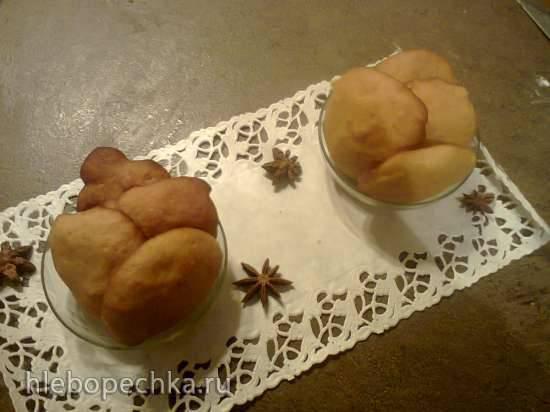 Knodel mit Honig kramelyu (Пампушки медовые с карамелью)