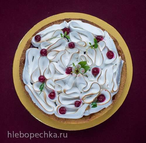 Johannisbeer - Kaesekuchen mit Merengue (Чизкейк с красной смородиной и меренгой) Johannisbeer - Kaesekuchen mit Merengue (Чизкейк с красной смородиной и меренгой)