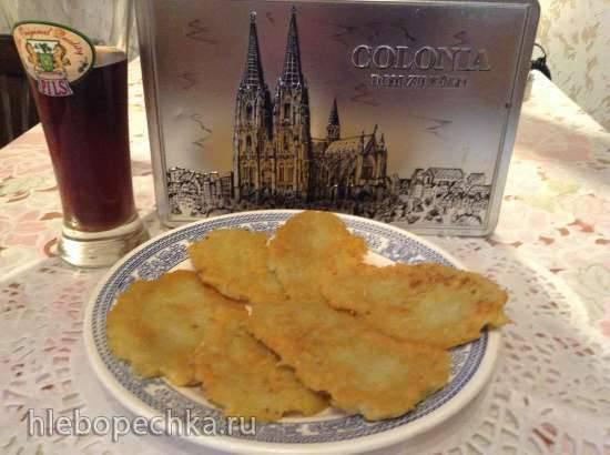 Kartoffelpuffer (оладьи из картофеля)