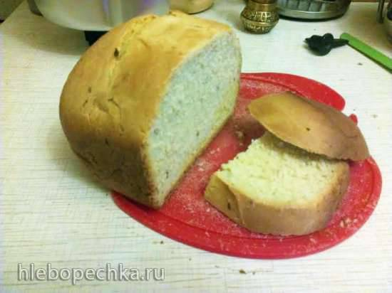 Хлеб Сметана и лук