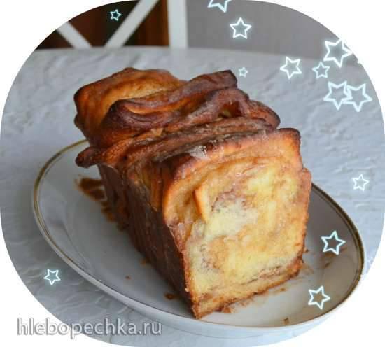 Pull-Apart Bread (сдобная булка по-оклахомски)