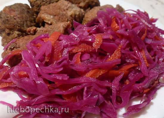 Rotkraut suss - sauer - краснокочанная капуста маринованная
