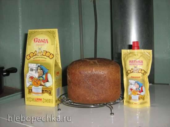 Хлеб ржаной на закваске Бородино (по мотивам Ланьер)