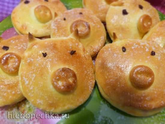 Gefeullte Gleucksschweinchen (фаршированные Счастливые Хрюши) Gefeullte Gleucksschweinchen (фаршированные Счастливые Хрюши)