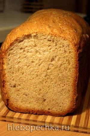Пшеничный хлеб с клетчаткой и ламинарией