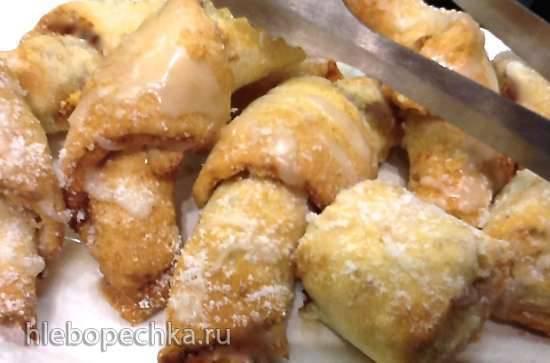 Австрийские яблочные рогалики - Oesterreichische Apfel-Croissants