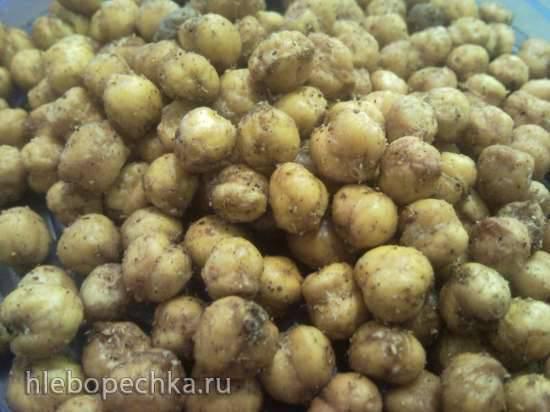 Орешки из готового песочного теста