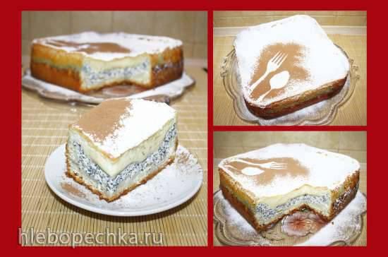 Торт Айершекке (Eierschecke)