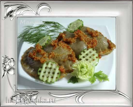 Картофельные вареники с овощной начинкой (мультиварка Philips HD3095)