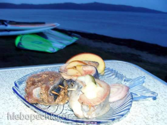 Рольмопсы (немецкие роллы) - традиционные, с яблоками, с черносливом