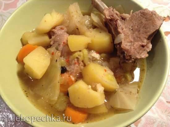 Баварский суп в глиняном горшочке (Pichelsteiner aus dem Tontopf)