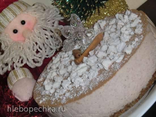 Рождественский торт с корицей и спекуляциус (Zimtweihnachtstorte mit Spekulatius).
