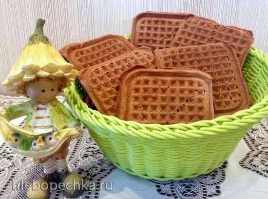 Ореховые вафли (гриль STEBA 4.4)