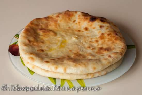 Пирог осетинский в пиццепечке Принцесс