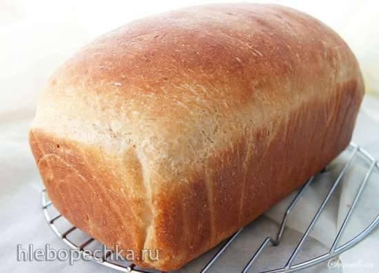 Пшеничный цельнозерновой хлеб с тыквой