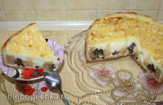 Старинный немецкий яблочный пирог (Altdeutscher Bratapfelkuchen)