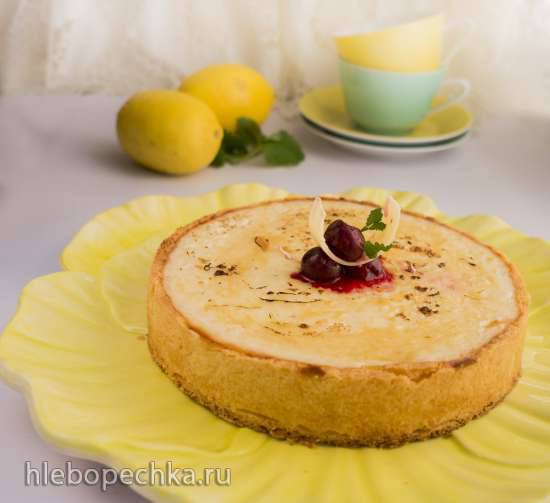 Лимонно-рисовый пирог (Zitronen-Reistorte)