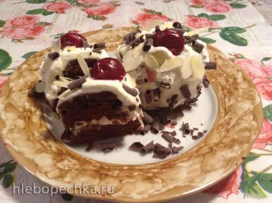 Шварцвальдские пирожные (Schwarzwalder Kirsch - Tortchen)