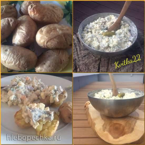 Салат из сельди Бисмарк (Bismarckhering - Salat)