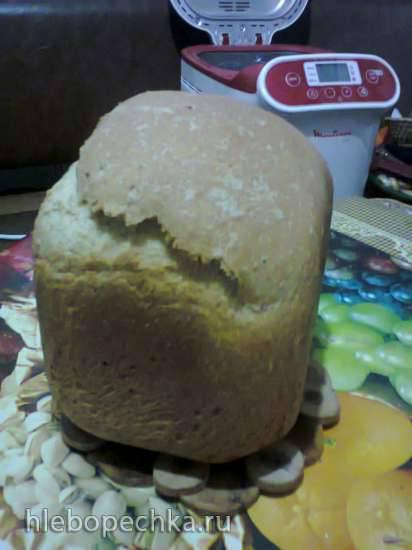 Хлеб горчичный на ряженке с отрубями