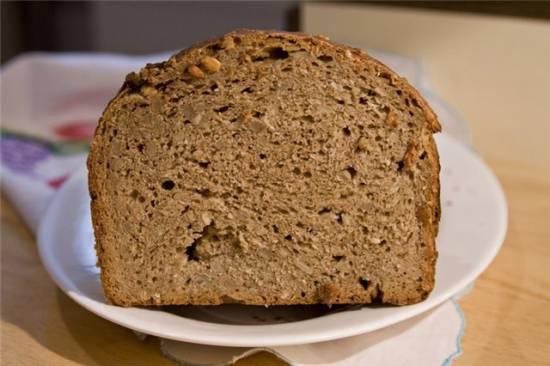 Хлеб ржано-пшеничный «Казачий» (хлебопечка)