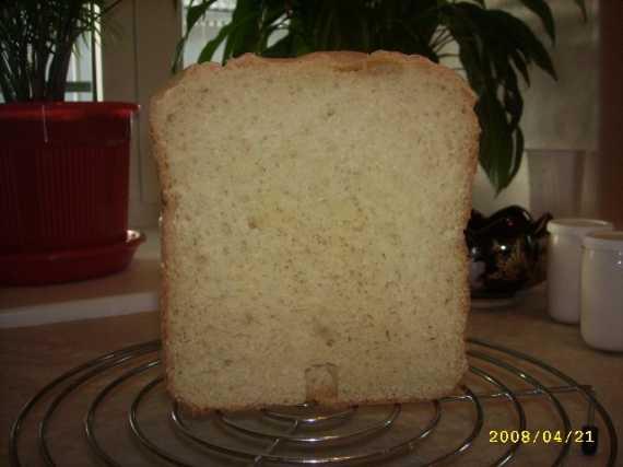 Пшенно-кукурузный хлеб