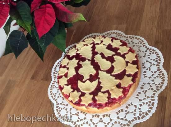 Творожный пирог на Адвент (Advents-Kaesekuchen)
