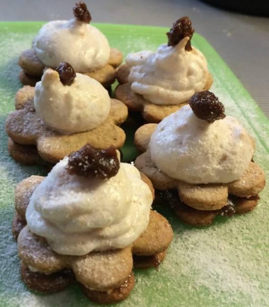 Марципановые конфеты Nougat erdnuss meringues