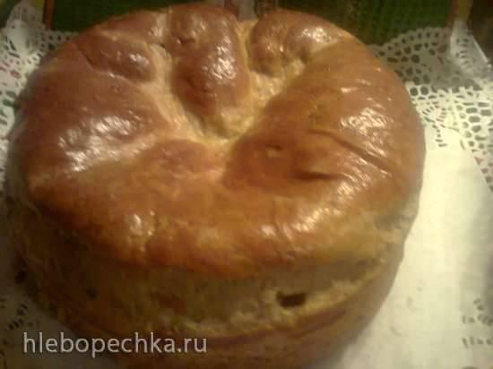 Франконский хлеб-сердце с травами (Herzhaftes Kraeuterwickelbrot)
