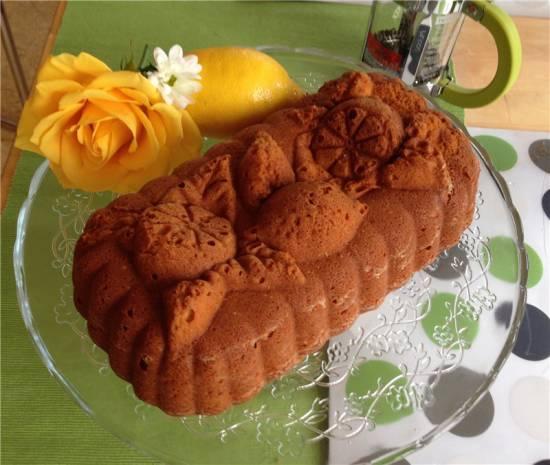 Кекс Лимонный хлеб