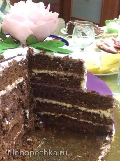 Немецкий шоколадный кекс (Тортикоделка Princess 132410) Шоколадный бисквит на раз, два, три