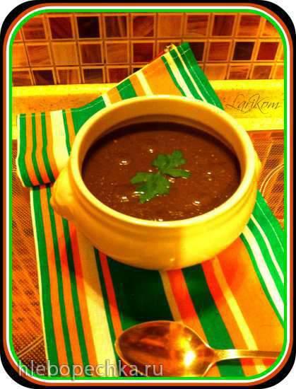 Крем-суп из авелука с чечевицей в суповарке Endever Skyline