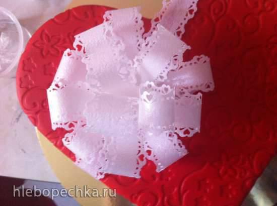 Бант из вафельной бумаги (мастер-класс)