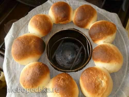 Хлеб пшеничный творожный в Гриль-газе