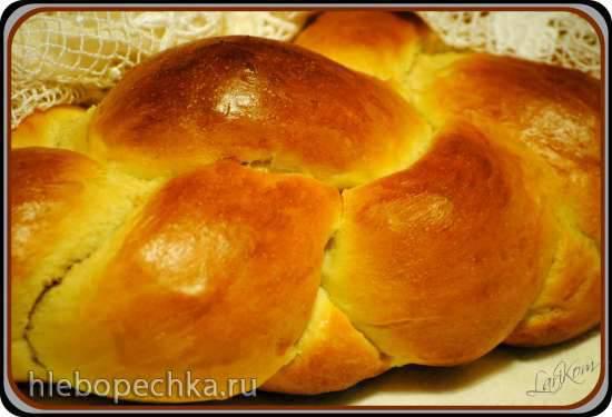 Бернский плетёный хлеб Zopf (Zoepfe)