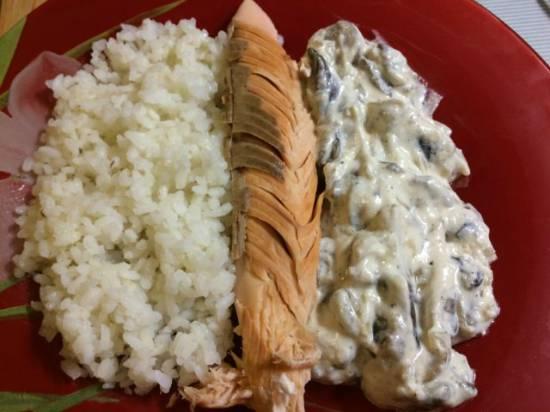 Рыба в соляной корке от шеф повара Оливера Штрубель Kurlander palais