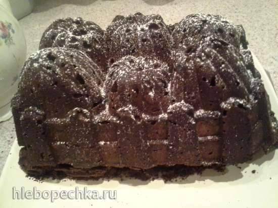 """Шоколадный кекс с творожной начинкой для форм Nordic Wear (""""Урожай"""")"""