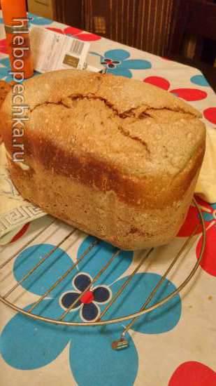 Пшенично-ржанной хлеб высокой влажности на закваске Пшенично-ржанной хлеб высокой влажности на закваске