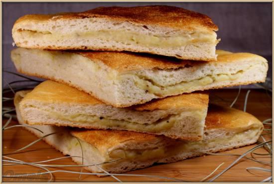 Постный пирог с картошкой (Пиццамейкер Princess 115000)