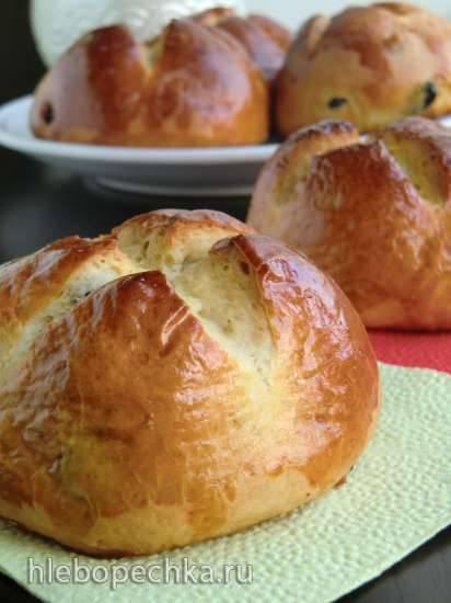 Австрийские пасхальные булочки