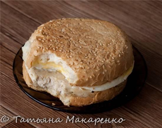 А-ля чизбургер в бутерброднице Travola