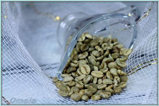 Зеленый кофе (обжарка)