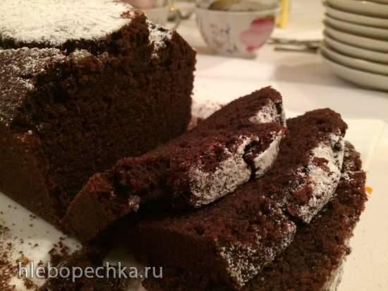 Шоколадно-свекольный кекс (без молочных продуктов)