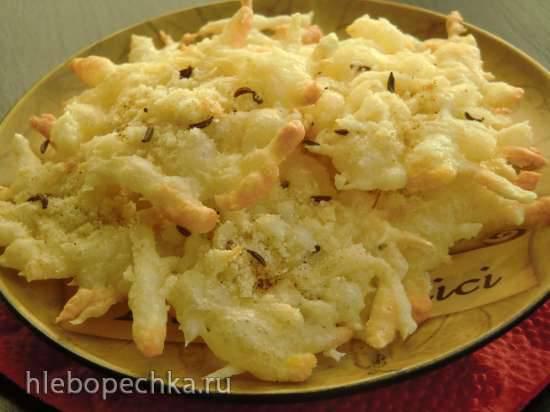 Луковые чипсы