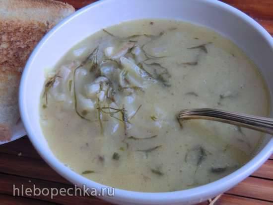 Крестьянский луковый суп (Bauerliche zwiebelsuppe)
