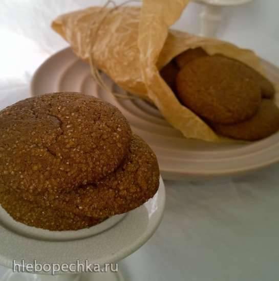 Пряное печенье с патокой (мелассой) от Анны Баррэл