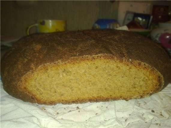Хлеб пшенично-ржаной цельнозерновой 50:50
