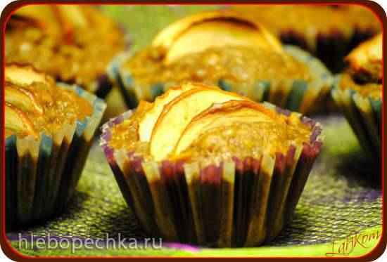 Яблочно-ореховые маффины (Apfel-Nuss-Muffins)