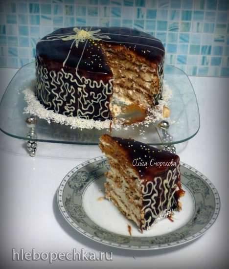 Торт Карамельная девочка