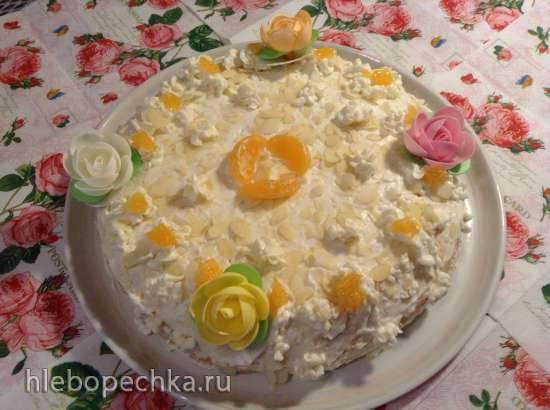 Венский творожно-сливочный торт